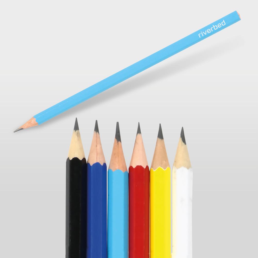 1171 Renkli Köşeli Kurşun Kalem