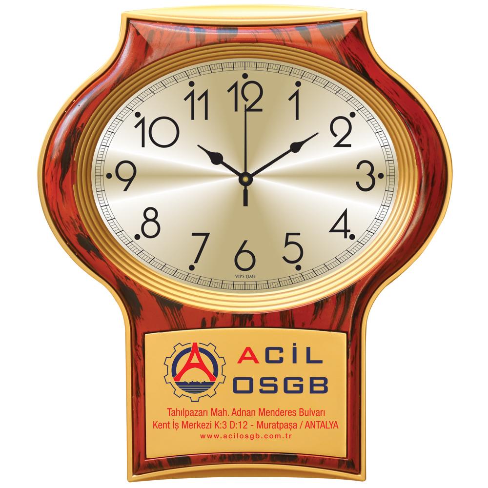 8520 Dış baskılı Duvar Saatleri