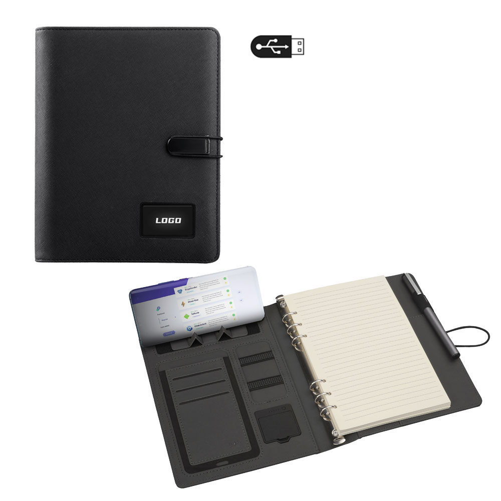4079 ORGANİZER WIRELESS (KABLOSUZ) 5000 MAH POWERBANK  / 16 GB USB BELLEK