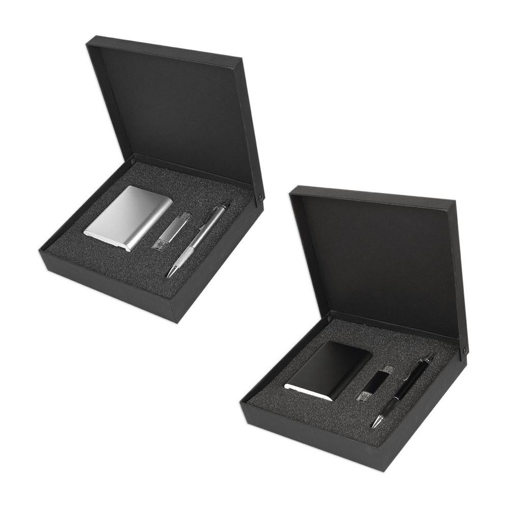 6478 POWERBANK - KALEM - 16 GB USB SET